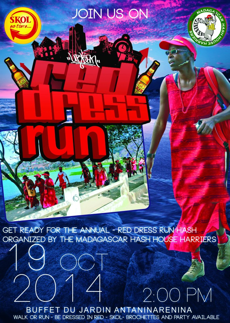 Red Dress Run 2014